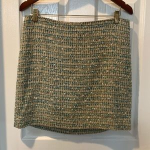Tweed Ann Taylor Pencil Skirt